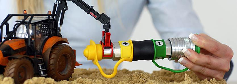 Außergewöhnlich ÖLDRUCKMASTER - Hydraulik-Schläuche unter Druck lösen! &PR_86